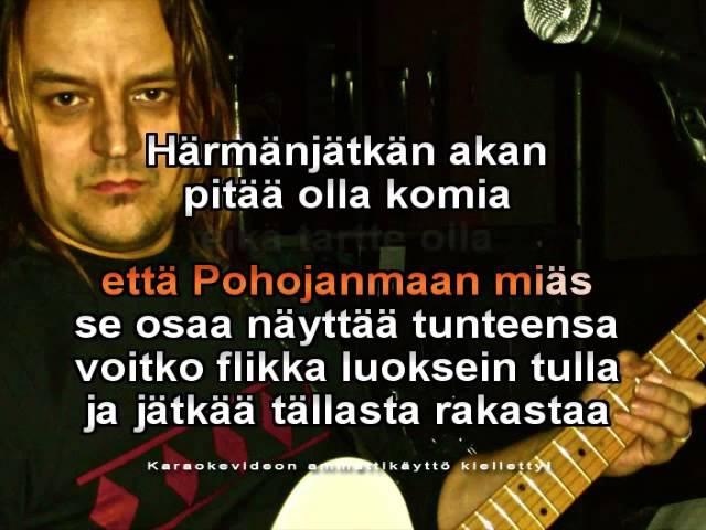 Härmänjätkä on raitilla Kansan Karaoke 5 ( Vesa Ollinmäki )