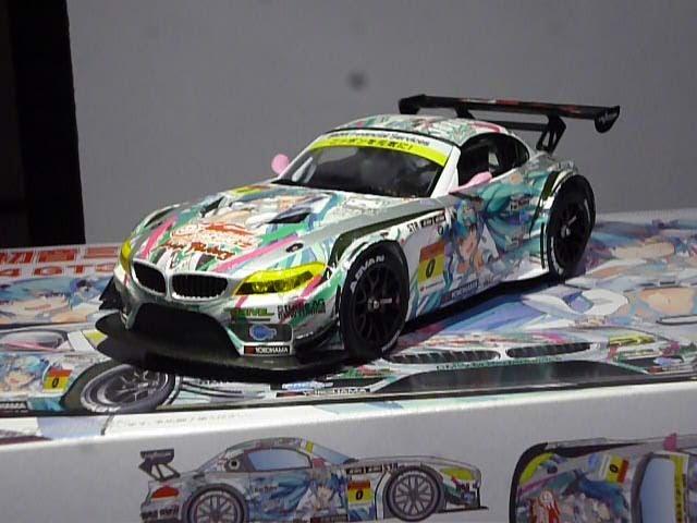 プラモ屋店長が組んでみたレビュー フジミ 1 24 GSR 初音ミク BMW Z4 GT3 2012 スーパーGT 後