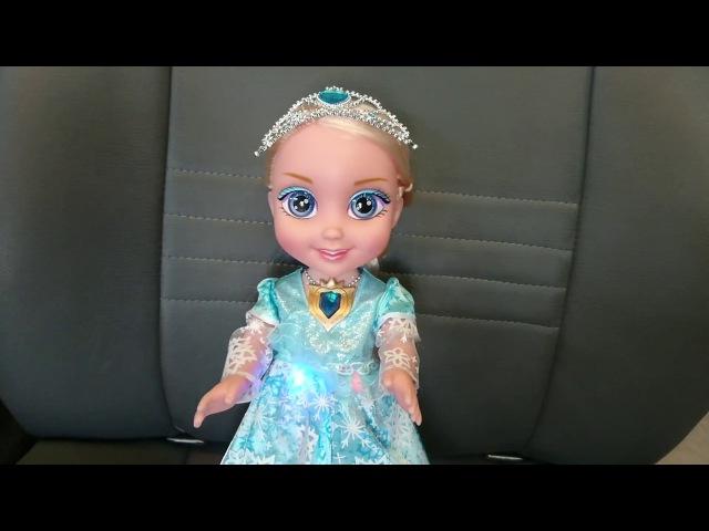 Обучающая интерактивная кукла с диктофоном Оля