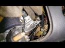 AUDI A6 C4 замена иммобилайзера и замка зажигания заводится и глохнет