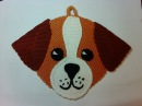 Прихватка- собачка Чихуахуа, ч.1. Pothook - dog Chihuahua, р.1. Amigurumi. Crochet. Амигуруми.
