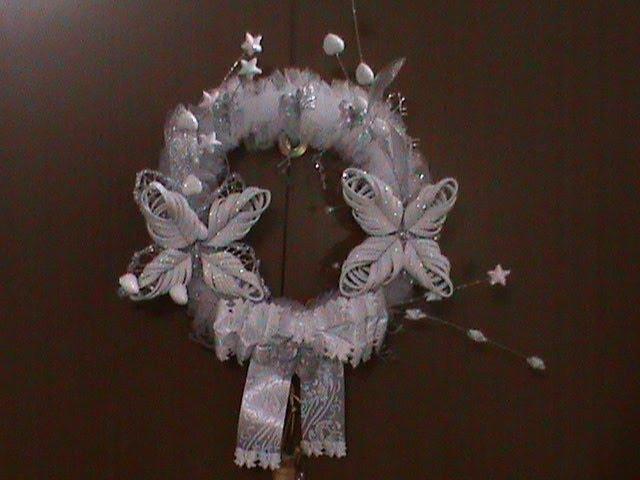 DIY/МК Как сделать рождественкий венок своими руками. Часть - 2