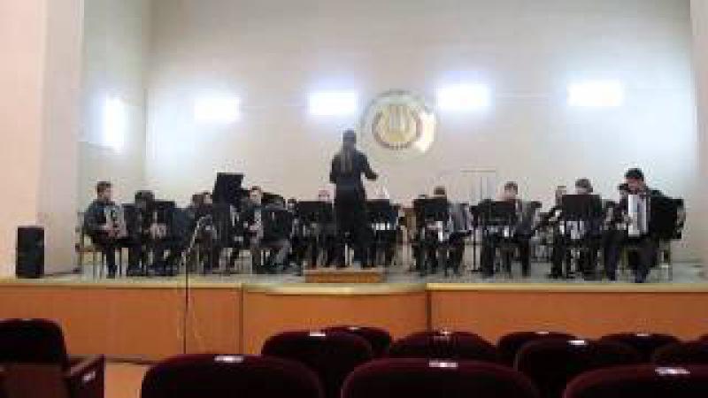 Баянный оркестр Колледжа искусств им.Н.Ф.Соколовского г.Гомель