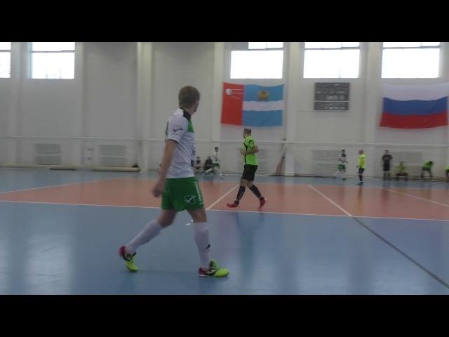 ФК «ОКБ МЭЛ» - ФК «BazaCity» - 1 тайм