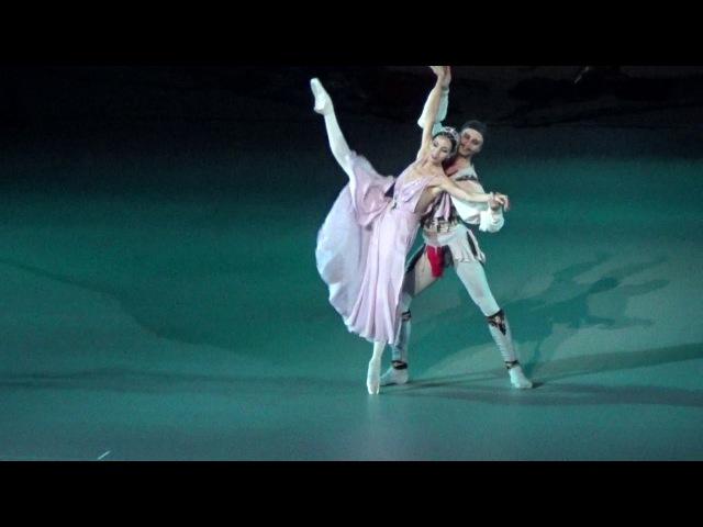 29.11.17 Корсар Адажио: В.Терёшкина, А.Ермаков.