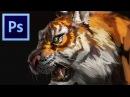 Photoshop Speedpaint Tiger