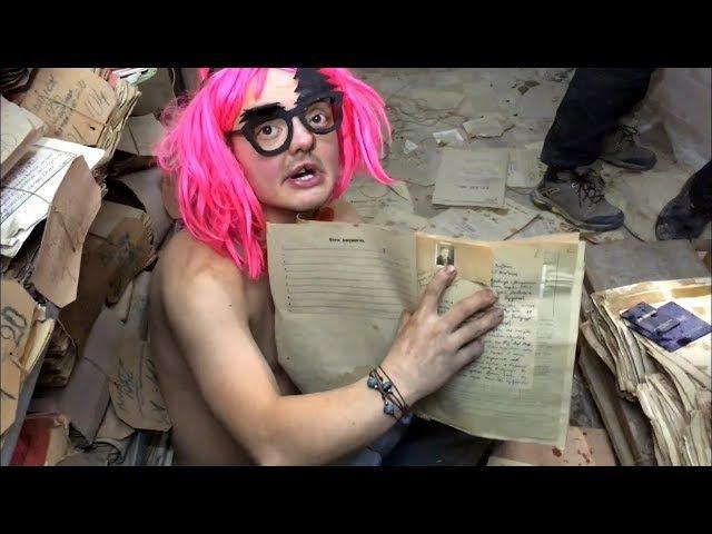 VLOG ● Нашли старинные архивы в подземельях