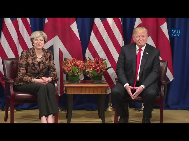 President Trump Participates in an Expanded Meeting with the Prime Minister of the United Kingdom