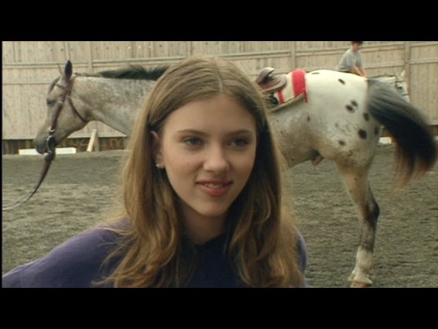 FLASHBACK: A 13-Year-Old Scarlett Johansson on Horseback Riding Lessons: 'I Didn't Know What I Wa…