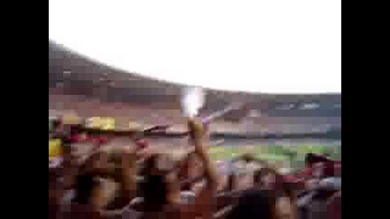 Maracanã 04/2004 - Torcida do Flamengo na Geral