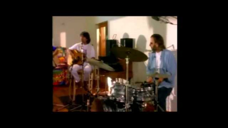 The Beatles reunion- live at Friar Park-1994 (full version).