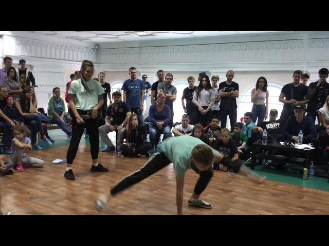 Break dance selection Novokuznetsk killa sprat anniversary 2017