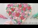 ( lakomkavk) Buttercream Flower Heart Cake