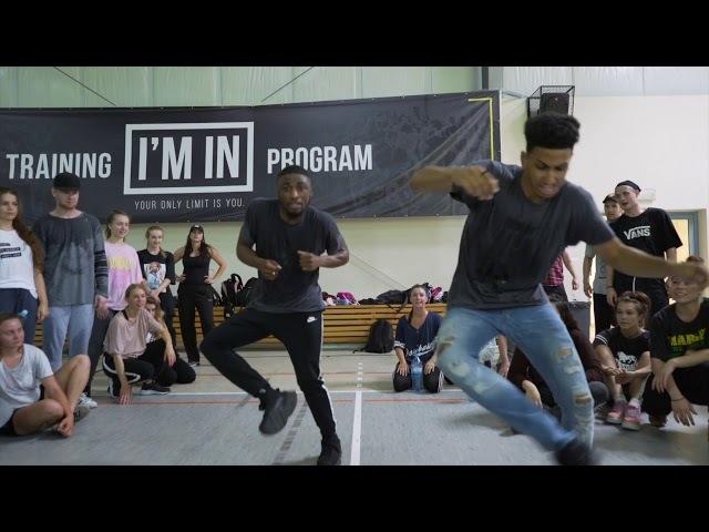HomeBros X J Funk @ I'M IN Summer Dance Camp | Poland (Day 2)