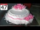 BANH KEM HOA TIET DON GIAN DEP 47 SIMPLE NICE CAKE 47