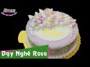 Bánh kem sinh nhật Hoa Mai đơn giản