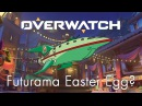 Futurama Easter Egg in Overwatch?
