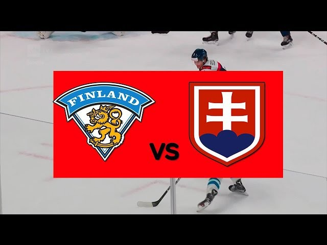 Suomi vs Slovakia U20 Jääkiekon MM-kisat Maalikooste 5-2