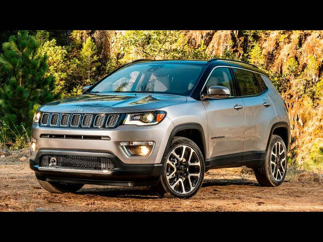 2017 Jeep Compass - interior Exterior and Drive