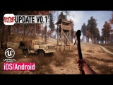 AMONG THE DEAD ONES - iOS Android - BETA UPDATE 0.1 GAMEPLAY (Unreal Engine 4)