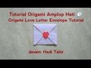 Origami Love Letter Heart Envelope 💌 Tutorial
