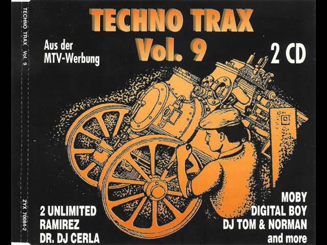 TECHNO TRAX VOL. 9 (IX) FULL ALBUM - 143:47 MIN (GERMANY TECHNO TRANCE RAVE 1993 HD HQ HIGH QUALITY)