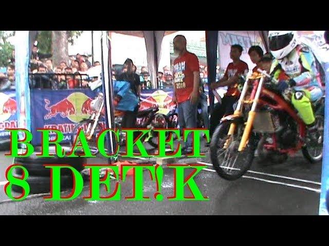 TREK BASAH BIKIN NGILU ! Video Drag Bracket 8 Detik | Drag Bike Mojokerto
