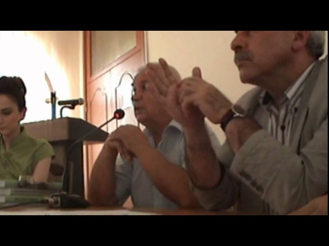 Зазнобин В М 2011 06 06 Встреча с учёными ИФСиП НАН Азербайджана ч 1 из 2