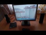 Телевизор из монитора для дачи DVB T2