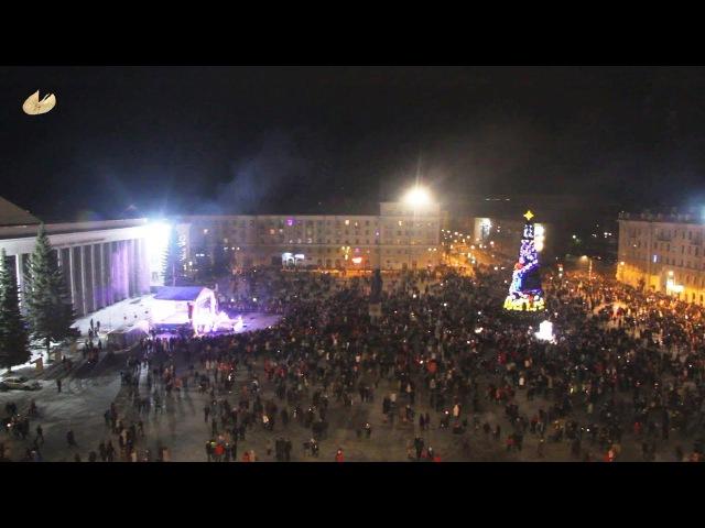 Новогоднее поздравление Игоря Скубенко и Михаила Старожилова. 2018 год