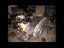 Создание моего гусеничного мини трактора