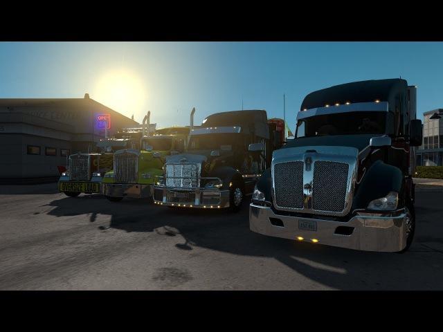 American Truck Simulator | Ломимся за грузом