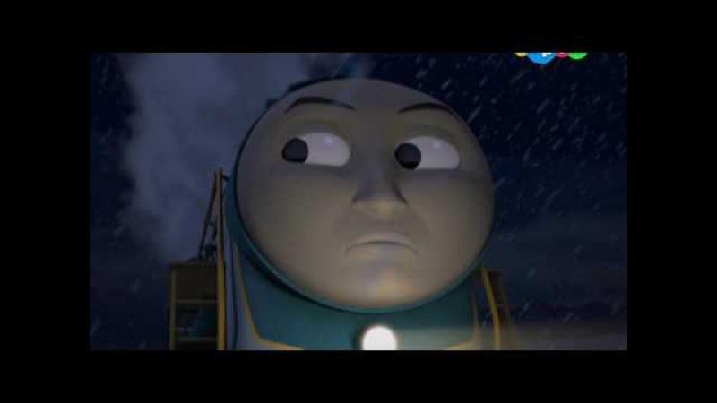 Томас и его друзья. - Последний поезд перед Рождеством - Шестой сезон, серия 18