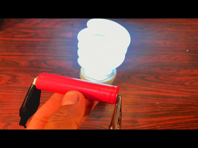How to make easy inverter 3.7v to use lamps 18w at home