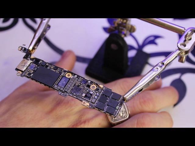 Перекатка NAND flash памяти,Красный экран