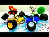Blaze e le mega macchine nuovi episodi-#Blaze e #Crusher puliscono la starda-Giochi per bambini