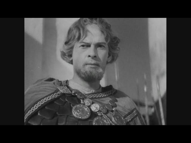 Александр Невский Кто к нам с мечом придёт тот от меча и погибнет