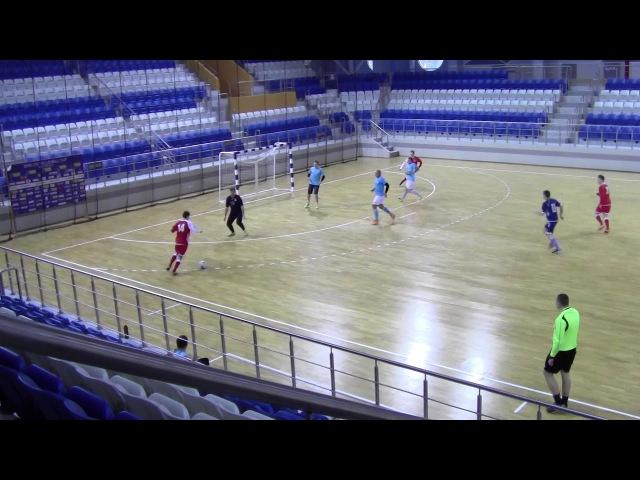 Белпочта 3 3 Динас Мини футбол 2017 2018 12 й тур Высшая лига 28 01 2018