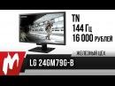 Правильный монитор на 144 Гц — LG 24GM79G-B — Железный цех — Игромания