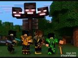 4 Пацана - В Minecraft! Сделал Видео Мой Друг Бекхан!