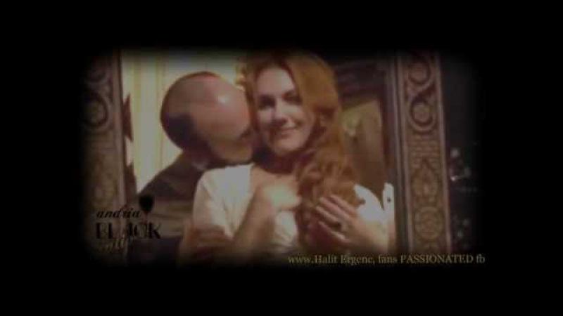 Halit Ergenc- Meryem Uzerli SULEYMAN HURREM...... 3 seasons kissing and melting !!