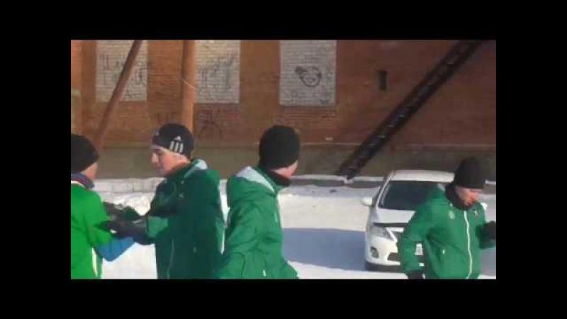 01 Гол Бондарь Дмитрия. (ФК СЮ 2-0 ФК Байгазино). Goal.