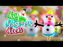 HOW TO MAKE SNOWMAN ! DIY Easy Toohee Christmas GIFTS for friends and family! 3 SNOWMAN