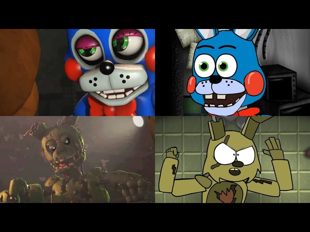 The prequel the sequel fanmade SFM FNAF animation
