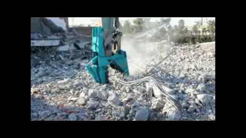 Excavator Hydraulic Machine Mechanical pulverizer
