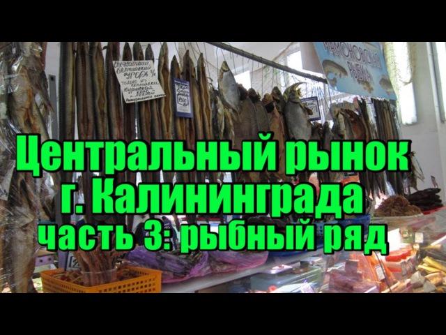 Центральный рынок Калининграда часть 3: рыбный ряд.