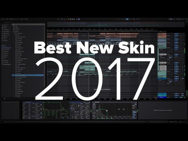 Pure AV Ableton Live 9 Skin Blue Skin Free Бесплатный скин для секвенсора Ableton Live