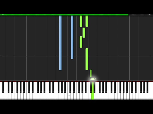 Light of Nibel - Ori and the Blind Forest [Piano Tutorial] (Synthesia) Knight Pianist ChacelX