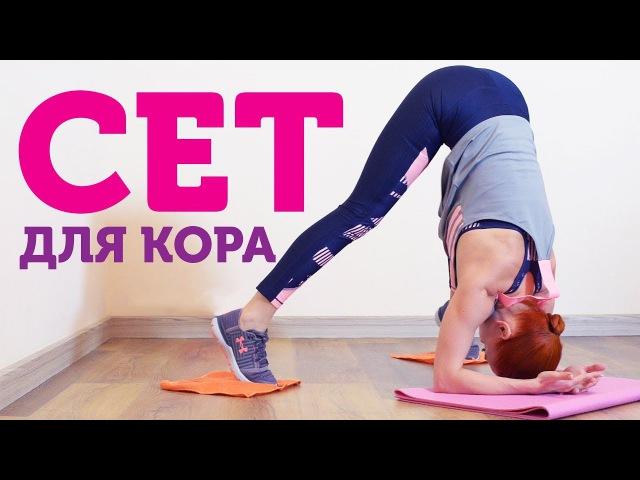 Екатерина Буйда Сет для кора Упражнения для мышц кора дома