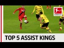 Müller Kimmich Havertz and More Top 5 Assist Kings